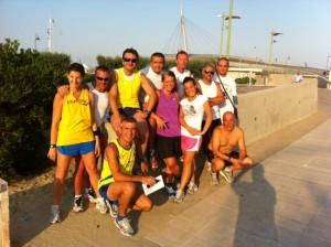 allenamenti di gruppo runners pescara